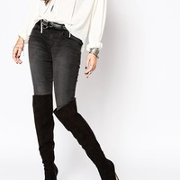 ASOS KINDRED Pointed Over The Knee Boots