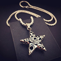 Stylish Gift New Arrival Shiny Jewelry Hip-hop Club Necklace [8979469124]