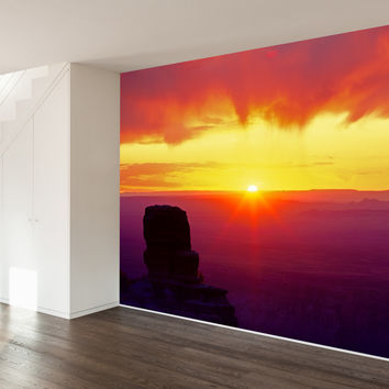 Paul Moore's Sunrise Over North Rim, Grand Canyon Mural wall decal
