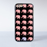 Cute Pink Elephant Collection  Plastic Case Cover for Apple iPhone 4 4s 5 5s 5c 6 6s Plus