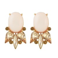 BLUSHFUL BEAUTY STUD EARRINGS