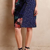 Petal-Pop Wrap Skirt