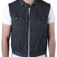 Ring of Fire Topanga Vest Raw Edge