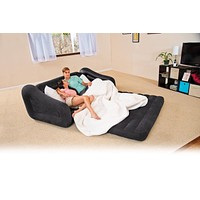 Inflatable Pull Out Sofa Sleeper Air Mattress Bed