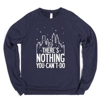 NYC - There's Nothing You Can't Do (Dark Sweater) |