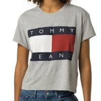 Tommy Jeans inspired retro tshirt