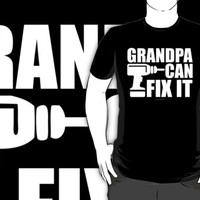Grandpa Can Fix It (Dark)