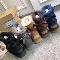 UGG Women Casual Half Boots Trending Snow Boots Shoes