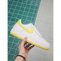 Nike Air Force 1 White/bright Citron Sneakers