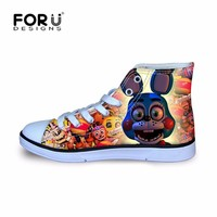 FORUDESIGNS  at Cartoon Printing Kids Sneakers for Boy Children Sport Running Shoes Lightweight Boots 2018