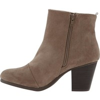 Women's Faux-Suede Ankle Boots