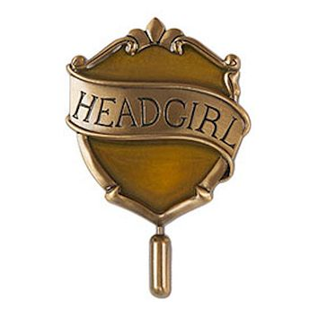 Universal Studios Harry Potter Hufflepuff Head Girl Pin New with Card