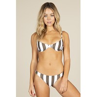 MIKOH - Lima Top | Retro Stripe Olive