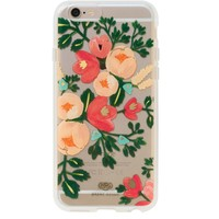 Clear Peach Blossom iPhone 6 Case by RIFLE PAPER Co. | Imported