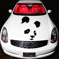 Car Hood Decals Panda Bear Decals Vinyl Sticker Animals Murals O249