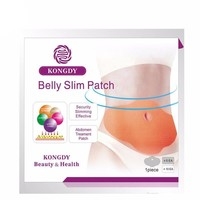 New Belly Abdomen Weight Loss Fat burning Slim Patch