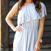 Pool Time Cover Up: Heather Grey | Hope's