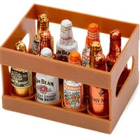 Liquor Filled Chocolate Bottles: 10-Piece Crate