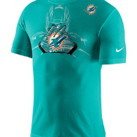 Nike Team Glove (NFL Dolphins) Men's T-Shirt