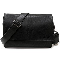 Casual Envelope Handbag Bags Men's Leather Shoulder Cross body Bag Business Satchel Men Messenger Bags