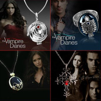 The Vampire Diaries Jewelry Bundle FREE Just Pay Shipping!