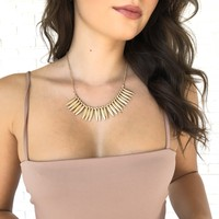 Spirit Of The Wild Gold Necklace