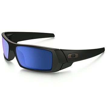 OAKLEY GASCAN MATTE BLACK ICE IRIDIUM POLARIZED