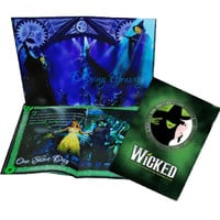 Wicked the Broadway Musical - 10th Anniversary Souvenir Program (Green Cover)