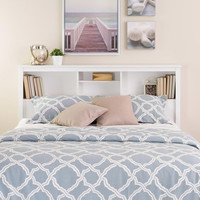 Monterey Full/Queen Bookcase Headboard | Overstock.com Shopping - The Best Deals on Headboards