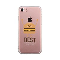 Burger Phone Case Best Friends Matching Cover