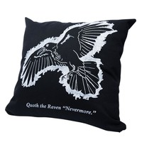 The Raven Pillow Cover