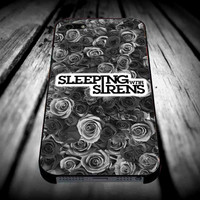 Gray Roses Band Sleeping with Sirens for iPhone 4/4s/5/5s/5c/6/6 Plus Case, Samsung Galaxy S3/S4/S5/Note 3/4 Case, iPod 4/5 Case, HtC One M7 M8 and Nexus Case ***