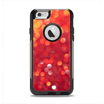 The Unfocused Red Showers Apple iPhone 6 Otterbox Commuter Case Skin Set