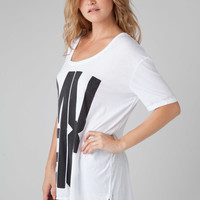 Chaser LA Music Tee in White