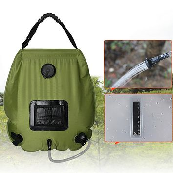 Solar Camping Shower Water Bag