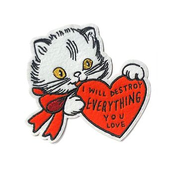 Destroy Everything You Love Cat Large Patch
