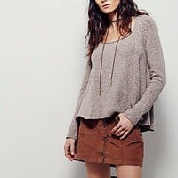 Free People Womens Swing Out Sister Sweater