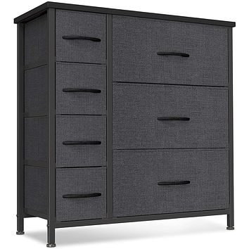 Cubiker Dresser Organizer with 7 Drawer, Furniture Storage Tower Unit for