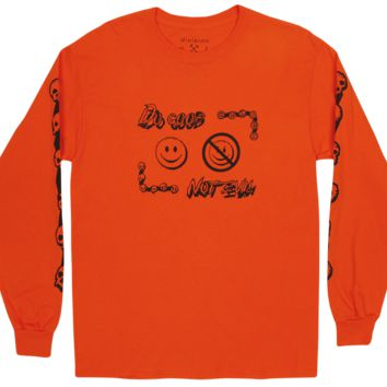 Do Good Not Evil Long Sleeve Tee