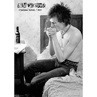 Sex Pistols - Sid Vicious Chelsea Hotel 24x36 Standard Wall Art Poster