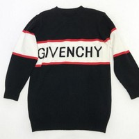 PEAP GIVENCHY Print women man warm long sleeve sweater Sweatshirt