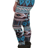 Western Sky Patterned Leggings