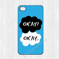 The Fault in Our Stars iPhone 4 Case,Okay O.K Ok  iPhone 4 4g 4s Hard Case,cover skin case for iphone 4/4g/4s case,More styles for you