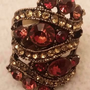 Gem Tower Ring