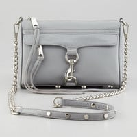 Mini MAC Crossbody Bag, Gray