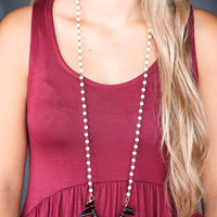 The Holly Necklace, Black   BPD