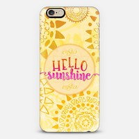 Hello Sunshine iPhone 6s case by Noonday Design | Casetify