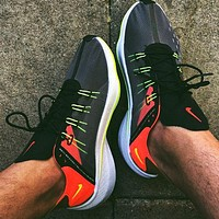 NIKE EXP-X14 SE JUST DO IT men and women cushioning sports running shoes Black&Orange