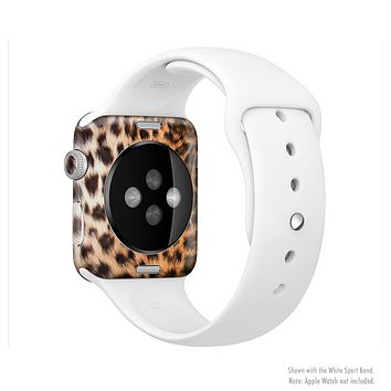The Mirrored Leopard Hide Full-Body Skin Kit for the Apple Watch