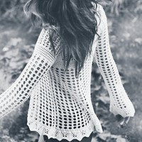 Annabelle Crocheted Pullover by Free People - $108